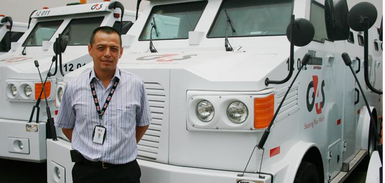 Juan Manuel Calisaya Gerente de Transporte de Valores, Lima Perú.