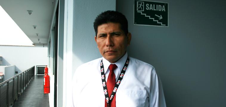 Luis Enrique Prado, Guardia de Seguridad, Lima Peru.