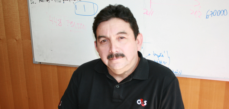 Luis Sandoval Sub-Gerente de Operaciones. Santiago de Chile, Chile.