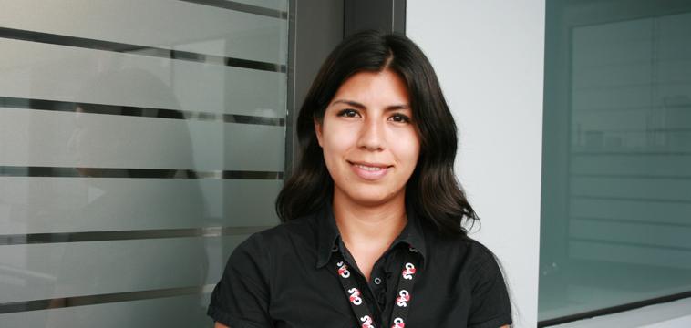 Marta Cisneros Asistente Ejecutiva del Country Manager. Lima, Perú.