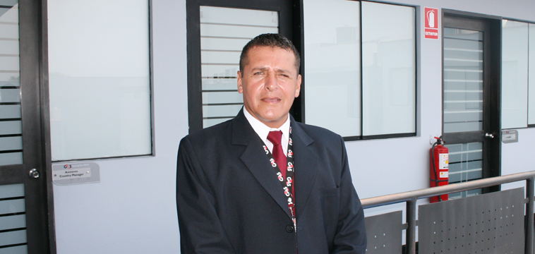 Víctor Bazan, Supervisor de Seguridad, Lima Peru.