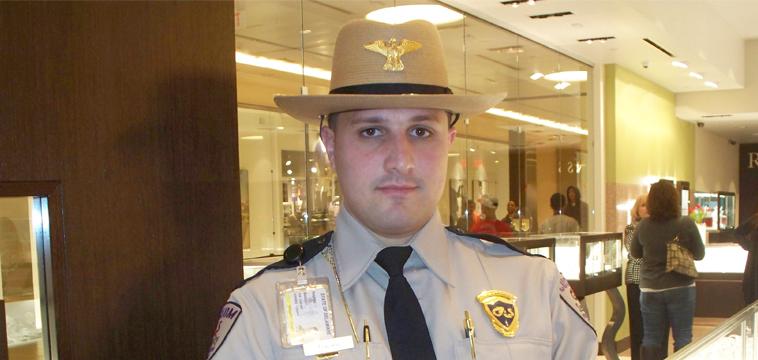Angelo Trapani, Custom Protection Officer. New Castle, Delaware.