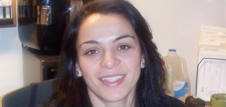 Cristina Machado, Site Manager. Boston, Massachusetts.