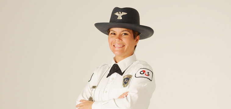 Yvette Pent, Upscale Security Officer. Hobe Sound, Florida