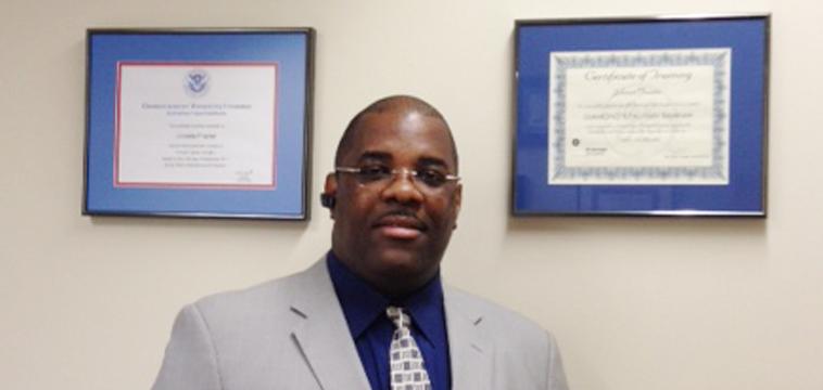 Johnnie Frazier, Area Supervisor in Cranford, New Jersey.