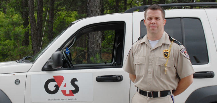 Ryan Gray, Custom Protection Officer, Manchester, New Hampshire.