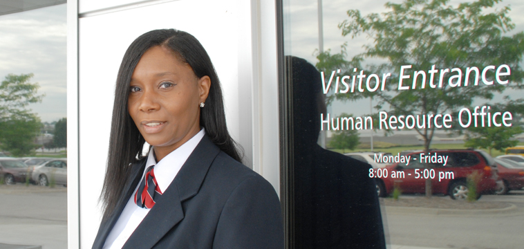 Sheryl Singleton, Site Supervisor, Omaha, Nebraska.