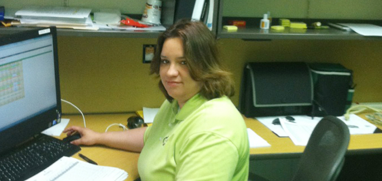 Marisela Gomes, Asistant Project Manager. Wiston-Salem, North Carolina.