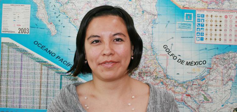 Anabel Poo, Auxiliar de Facturación. Ciudad de México, México