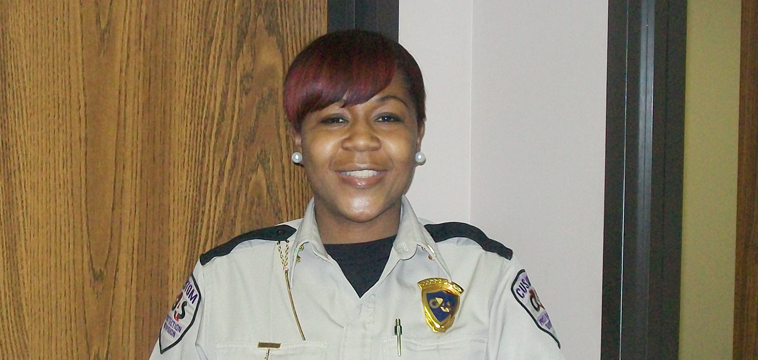 Aisha Moran, Site Supervisor. New Orleans, Louisiana.