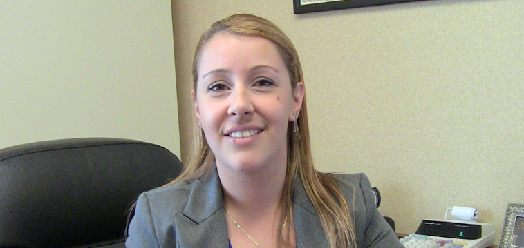 Elina Balbi, Regional Comptroller for the Americas. Jupiter, Florida.