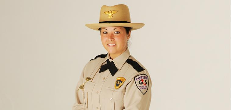 Nancy Ann Carny, Custom Protection Officer. Boca Raton, Florida