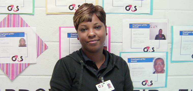 Veronica Brown, Youth Care Worker 2. Tampa, Florida.