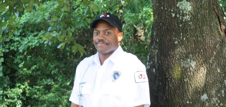 Upscale Security Officer, Willie Johnson. G4S Security Officer of the Year 2014. Nashville, Tennessee