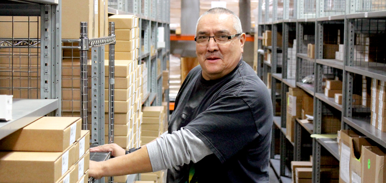 Sal Ruiz, Warehouse Clerk